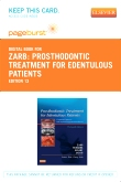 cover image - Prosthodontic Treatment for Edentulous Patients - Elsevier eBook on VitalSource (Retail Access Card),13th Edition