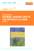 cover image - Nursing Care of the Critically Ill Child - Elsevier eBook on VitalSource (Retail Access Card),3rd Edition