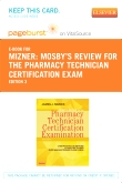 cover image - PART - Mosby's Review for the Pharmacy Technician Certification Examination - Elsevier eBook on VitalSource (Retail Access Card),3rd Edition
