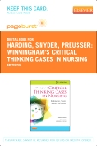 cover image - Winningham's Critical Thinking Cases in Nursing - Pageburst E-Book on VitalSource (Retail Access Card),5th Edition