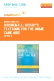 cover image - Mosby's Textbook for the Home Care Aide - Elsevier eBook on VitalSource (Retail Access Card),3rd Edition