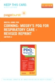 Mosby's PDQ for Respiratory Care - Revised Reprint - Elsevier eBook on VitalSource (Retail Access Card), 2nd Edition