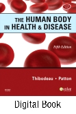cover image - The Human Body in Health & Disease - Elsevier eBook on Intel Education Study,5th Edition