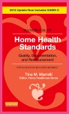 Handbook of Home Health Standards - Revised Reprint - Pageburst E-Book on Kno, 5th Edition