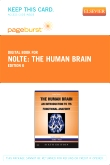 Nolte's The Human Brain - Elsevier eBook on VitalSource (Retail Access Card), 6th Edition