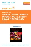 cover image - Brody's Human Pharmacology - Elsevier eBook on VitalSource (Retail Access Card),5th Edition