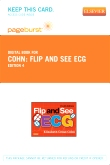 Flip and See ECG - Elsevier eBook on VitalSource (Retail Access Card), 4th Edition