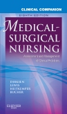 cover image - Clinical Companion to Medical-Surgical Nursing - Elsevier eBook on VitalSource,8th Edition