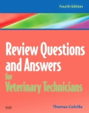 cover image - Review Questions and Answers for Veterinary Technicians - Elsevier eBook on VitalSource,4th Edition