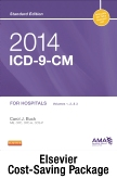 cover image - 2014 ICD-9-CM for Hospitals, Volumes 1, 2 & 3 Standard Edition with 2013 HCPCS Level II Standard and CPT 2013 Standard Edition Package