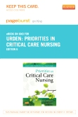 cover image - Priorities in Critical Care Nursing - Elsevier eBook on Intel Education Study (Retail Access Card),6th Edition
