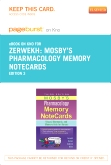 Mosby's Pharmacology Memory NoteCards - Pageburst E-Book on Kno (Retail Access Card), 3rd Edition