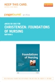 cover image - Foundations of Nursing - Elsevier eBook on Intel Education Study (Retail Access Card),6th Edition