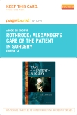 Alexander's Care of the Patient in Surgery - Elsevier eBook on Intel Education Study (Retail Access Card), 14th Edition