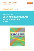 Calculate with Confidence - Elsevier eBook on Intel Education Study (Retail Access Card), 5th Edition