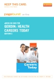 cover image - Health Careers Today- Elsevier eBook on Intel Education Study (Retail Access Card),5th Edition