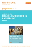 cover image - Patient Care in Radiography - Elsevier eBook on Intel Education Studyw (Retail Access Card),8th Edition