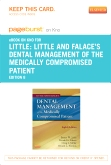 Little and Falace's Dental Management of the Medically Compromised Patient - Elsevier eBook on Intel Education Study (Retail Access Card), 8th Edition
