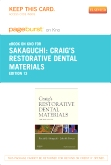 Craig's Restorative Dental Materials - Elsevier eBook on Intel Education Study (Retail Access Card), 13th Edition