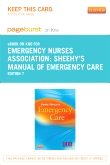 Sheehy's Manual of Emergency Care - Pageburst E-Book on Kno (Retail Access Card), 7th Edition