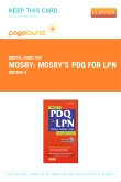 Mosby's PDQ for LPN - Elsevier eBook on VitalSource (Retail Access Card), 3rd Edition