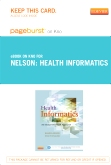Health Informatics - Elsevier eBook on Intel Education Study (Retail Access Card)