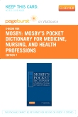cover image - Mosby's Pocket Dictionary of Medicine, Nursing & Health Professions - Elsevier eBook on VitalSource (Retail Access Card),7th Edition