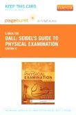 cover image - Seidel's Guide to Physical Examination - Elsevier eBook on VitalSource (Retail Access Card),8th Edition