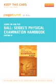 cover image - Seidel's Physical Examination Handbook - Elsevier eBook on Intel Education Study (Retail Access Card),8th Edition