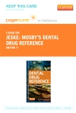 Mosby's Dental Drug Reference - Elsevier eBook on VitalSource (Retail Access Card), 11th Edition