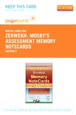 Mosby's Assessment Memory NoteCards - Elsevier eBook on VitalSource (Retail Access Card), 2nd Edition