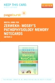 Mosby's Pathophysiology Memory NoteCards - Elsevier eBook on VitalSource (Retail Access Card), 2nd Edition