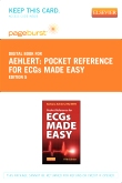 cover image - Pocket Reference for ECGs Made Easy- Elsevier eBook on VitalSource (Retail Access Card),5th Edition