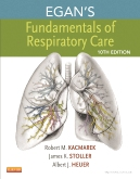 cover image - Egan's Fundamentals of Respiratory Care - Elsevier eBook on Intel Education Study,10th Edition
