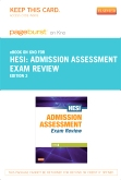 Admission Assessment Exam Review - Elsevier eBook on Intel Education Study (Retail Access Card), 3rd Edition