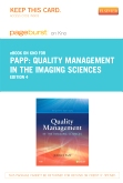 cover image - Quality Management in the Imaging Sciences - Elsevier eBook on Intel Education Study (Retail Access Card),4th Edition