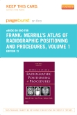 cover image - Merrill's Atlas of Radiographic Positioning and Procedures - Elsevier eBook on Intel Education Study (Retail Access Card),12th Edition