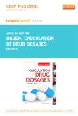 Calculation of Drug Dosages  - Elsevier eBook on Intel Education Study (Retail Access Card), 9th Edition
