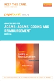 cover image - Adams' Coding and Reimbursement - Elsevier eBook on Intel Education Study (Retail Access Card),4th Edition