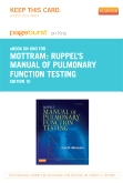 Ruppel's Manual of Pulmonary Function Testing - Elsevier eBook on Intel Education Study (Retail Access Card), 10th Edition