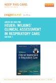 cover image - Wilkins' Clinical Assessment in Respiratory Care - Elsevier eBook on Intel Education Study (Retail Access Card),7th Edition