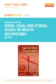 cover image - Legal and Ethical Issues in Health Occupations - Elsevier eBook on Intel Education Study (Retail Access Card),2nd Edition