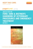 Kirk and Bistner's Handbook of Veterinary Procedures and Emergency Treatment - Elsevier eBook on Intel Education Study (Retail Access Card), 9th Edition