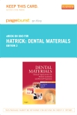 Dental Materials - Elsevier eBook on Intel Education Study (Retail Access Card), 2nd Edition