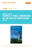 cover image - Ethical Dimensions in the Health Professions - Elsevier eBook on Intel Education Study (Retail Access Card),5th Edition