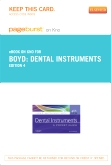 Dental Instruments - Pageburst E-Book on Kno (Retail Access Card), 4th Edition