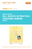 cover image - Success in Practical/Vocational Nursing - Elsevier eBook on Intel Education Study (Retail Access Card),7th Edition