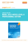 cover image - 2012 HCPCS Level II Professional Edition - Elsevier eBook on Intel Education Study (Retail Access Card)