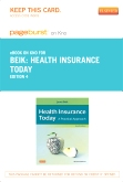 Health Insurance Today - Elsevier eBook on Intel Education Study (Retail Access Card), 4th Edition