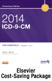 2014 ICD-9-CM for Hospitals, Volumes 1, 2 & 3 Professional Edition, 2014 ICD-10-CM Draft Standard Edition, 2013 HCPCS Professional Edition and CPT 2013 Professional Edition Package